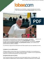 Las 25 Frases Del Papa