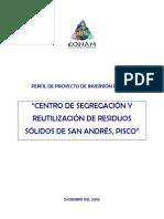 A. Perfil de Py Centro Segregacion