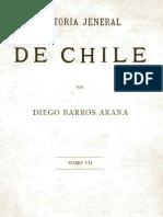 Barros Arana- Historia General de Chile Tomo VII