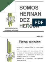 Encuestas Hercon Junio 2013