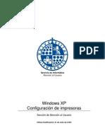 Windows XP - Configuración de impresoras