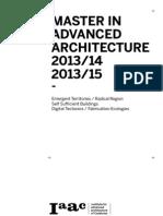 IAAC MAA 2013-14