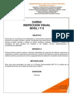 Temario Inspeccion Visual i y II Imisi Corp