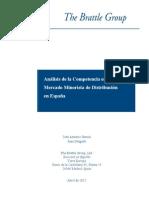 Analisis de competencia en el mercado de distribución minorista españa