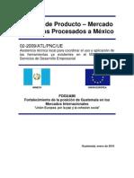 Estudio Alimentos Procesados a Mexico