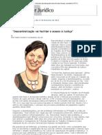 Conjur - Entrevista_ Desembargadora Maria Doralice Novaes, Presidente Do TRT-2