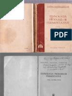 Ministerul Industriei Alimentare - Tehnologia Produselor Fermentative 1951