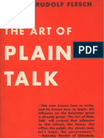 Flesch the Art of Plain Talk