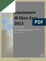 Cancionero IBEE 2013