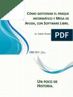 OCS + GLPI Presentacion JOBIC