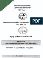Marketing Poljop.-prehrambenih Proizvoda-branislav Vlahovic 1-1(2004)