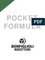 Fórmulas Técnicas Bonfiglioli Riduttori