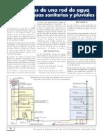 Elementos de Una Red de Agua Potable, Aguas Sanitarias y Pluviales REVISTA PRESUP Y CONTRUC