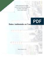 Contaminacion Venezuela