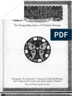 CtD Changeling the Dreaming 2nd Edition