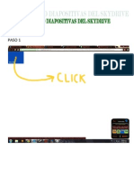 Skydrive Diapos Guide