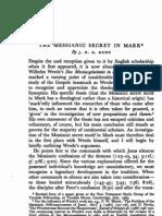 The messianic secret in Mark