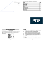 User Manual LaCrosse BC9009
