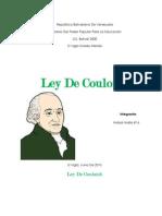 Ley de Couloumb