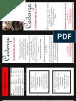 Cadenza Brochure