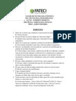 Atividade 01 - Procedimentos Radiológicos