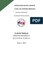 PLAN DE TRABAJO PRÁCTICA DOCENTE IV Ciclo 05-2013.docx