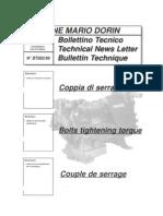 BT003-99 Coppia Di Serraggio