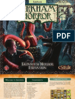 Arkham Horror Dunwich Horror Rules English