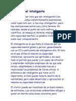 El Listo y El Inteligente._ Psicologia Jurica