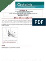 elbow olecranon bursitis -orthoinfo - aaos