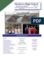 Rm Summer Newsletter 2013