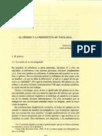 [1999] Carlos Lenkersdorf - El género y la perspectiva en tojolabal