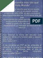 (4) Un programita más útil que _Hola Mundo_