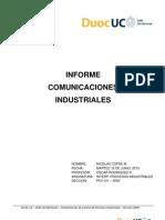 Informe de Comunicaciones Industriales