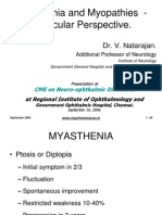 Muscle Disease(MG vs Myopathy Ocular Perspective)