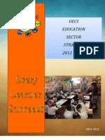 OECS Educ Sector Strategy 2012-2021 OESS (Final) 2012-05-18