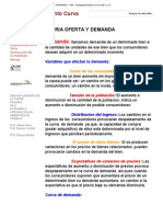 Teoria Oferta y Demanda - 404 - Desplazamiento Curva de o y d
