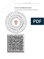 knights of the templar ciphers