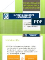 TECNOLOGÍAS DE INFORMACIÓN Y COMUNICACIÓN Resumen