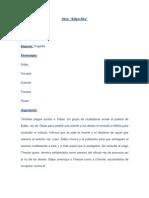 Edipo Rey - Libreto