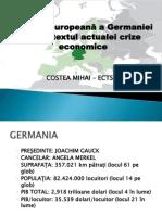 COSTEA MIHAI - Politica Europeana a Germaniei