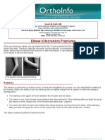 elbow olecranon fractures-orthoinfo - aaos