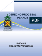 24742057unidad II. Los Actos Procesales
