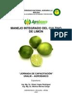 Manejo Integrado Del Cultivo de Limon