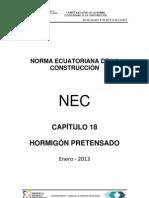 Nec2012 Cap18 Hormigon Pretensado_2013