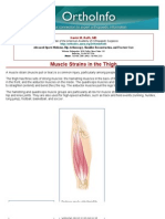 muscle strains in the thigh-orthoinfo - aaos