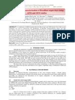 Morphological characterization of Brazilian organ clays using AFM and SEM studies