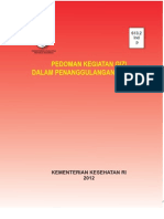 Buku Pedoman Kegiatan Gizi Dalam Penanggulangan Bencana