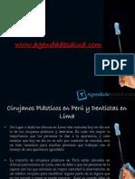 Cirujanos Plásticos en Perú y Dentistas en Lima