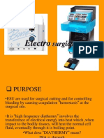 Electro Surgical Unit12